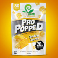 Pro Popped- Cheddar Cheese