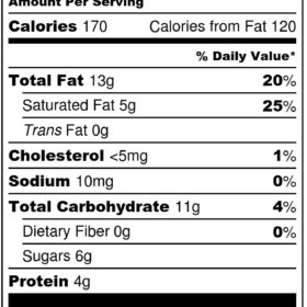 Oatmeal Cream Pie- Nutrition Label jpeg
